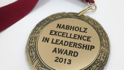 2013 Excellence in Leadership Award