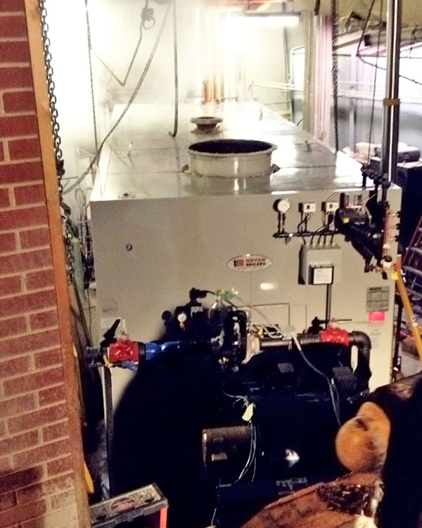 Boiler Installation at UT Memphis