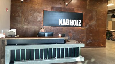 Kansas Nabholz New Office Front Desk