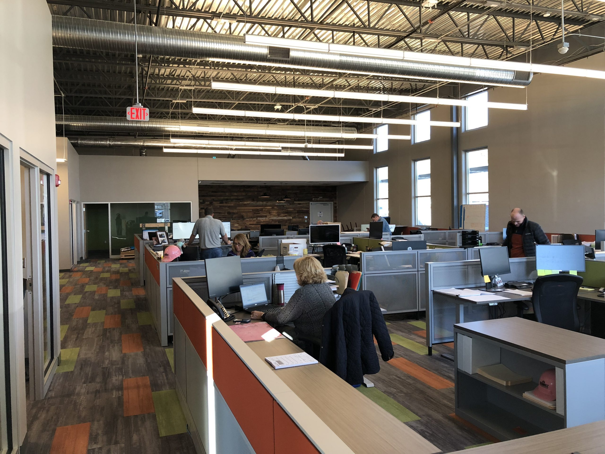 Kansas Nabholz New Office collaborative space